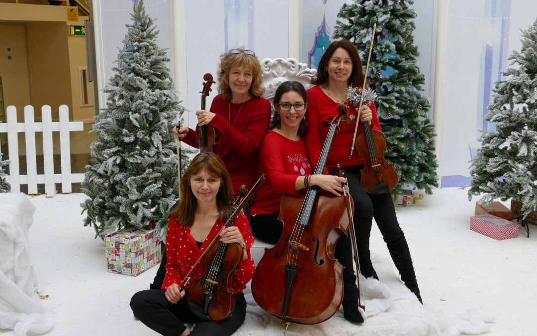 Magda String Quartet are music to our ears!